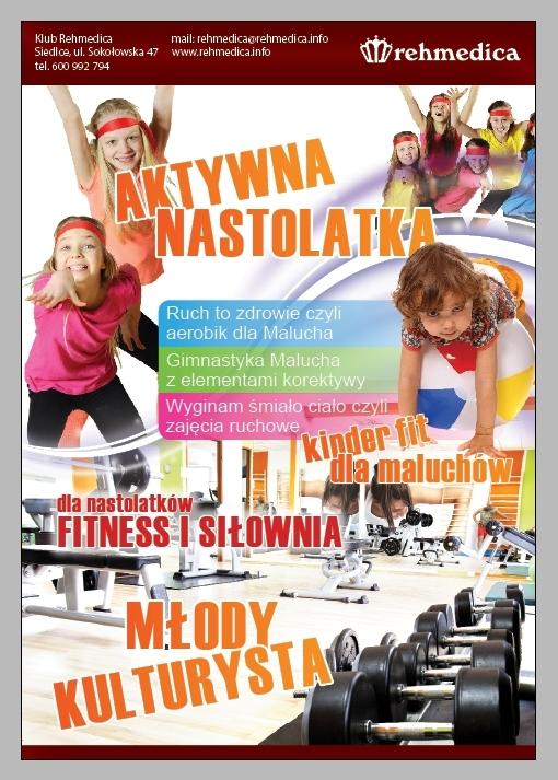 Reklama do gazety ogloszeniowa.pl - Aktywne dziecko. Rehmedica.