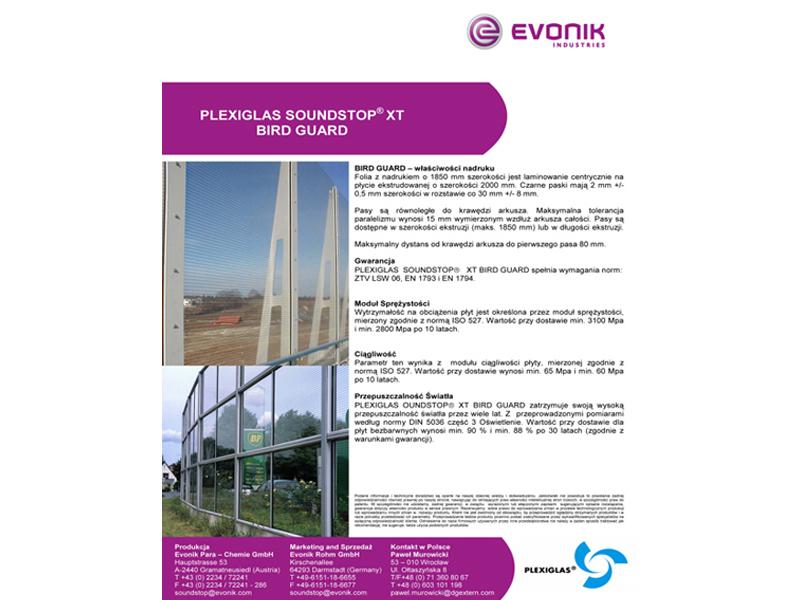 Evonik projekt graficzny