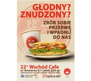 22-Wschód Cafe-plakat