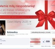 Dzień mamy na profilu Facebook.