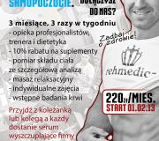 Plakat odchudzanie z Marcinem Kłosem