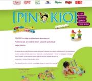 Pinokio-zabawki drewniane
